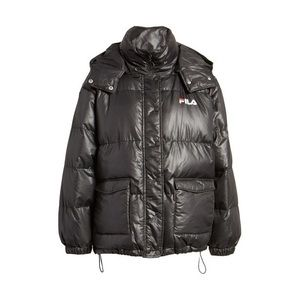 Fila Remie Hooded Puffer Jacket Black Size Small
